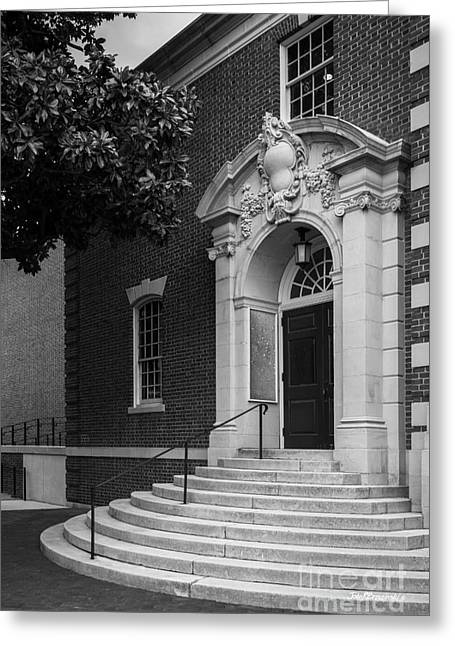 Sweet Briar College Cochran Library Entray Greeting Card by University Icons