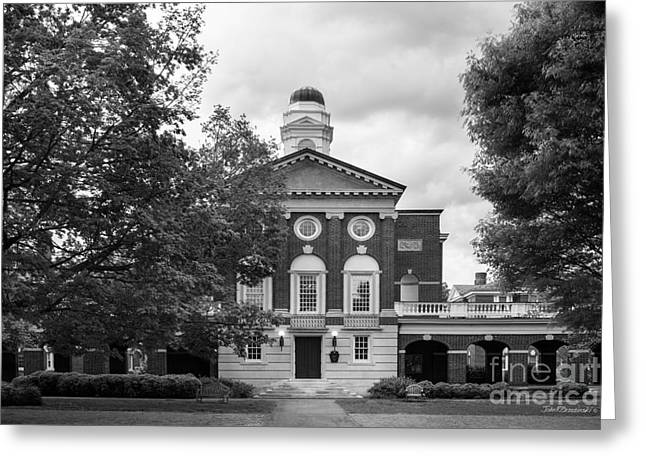 Sweet Briar College Pannell Cente Greeting Card by University Icons