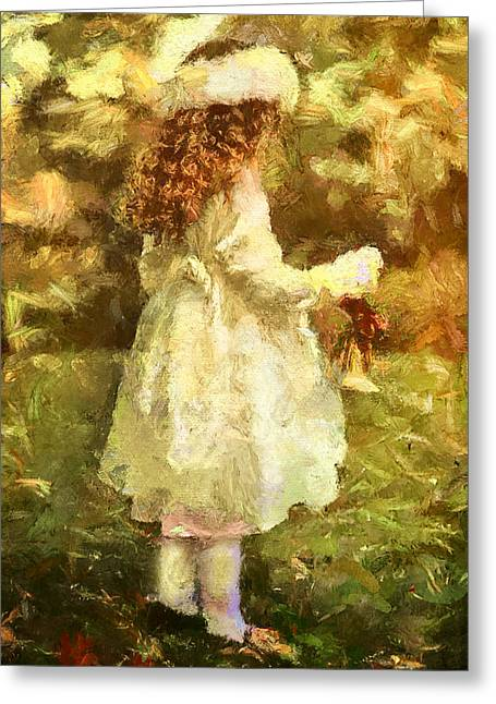 Sweet Child Of Innocent Joy Greeting Card