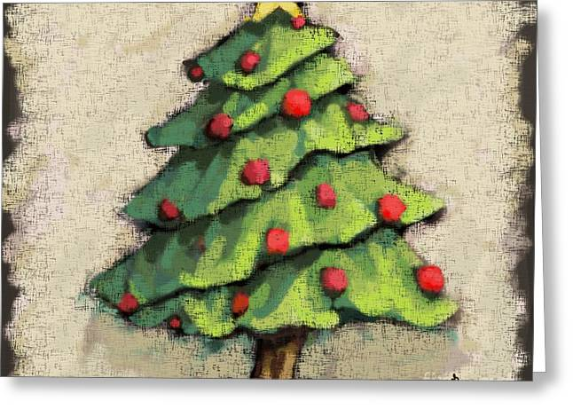Sweet Christmas Tree Greeting Card