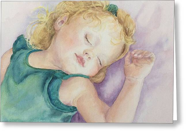Sweet Dreams Lucy Greeting Card