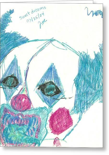 Sweet Dreams Greeting Card by Theresa Rawlings