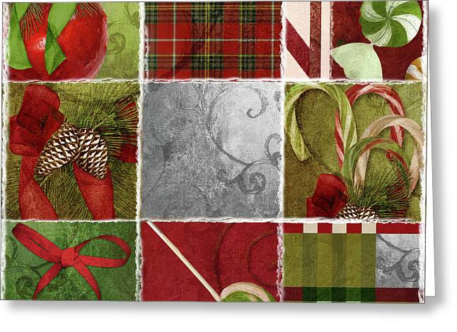 Sweet Holiday IIi Greeting Card by Mindy Sommers