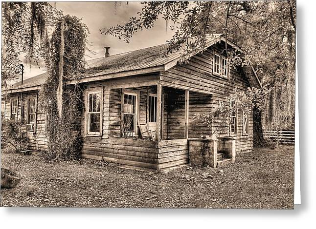Sweet Home Alabama Greeting Card by JC Findley