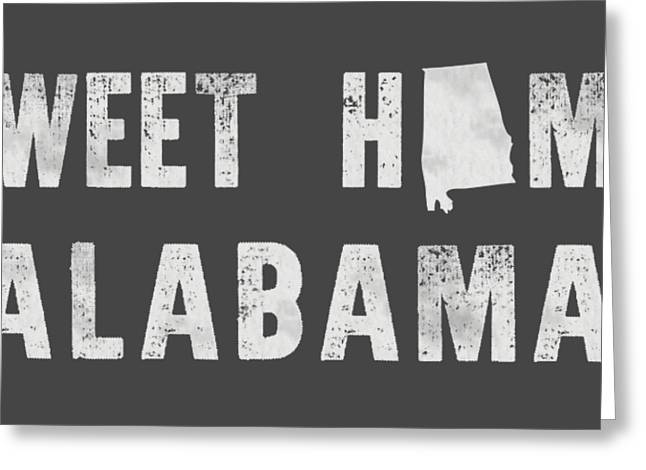 Sweet Home Alabama Greeting Card