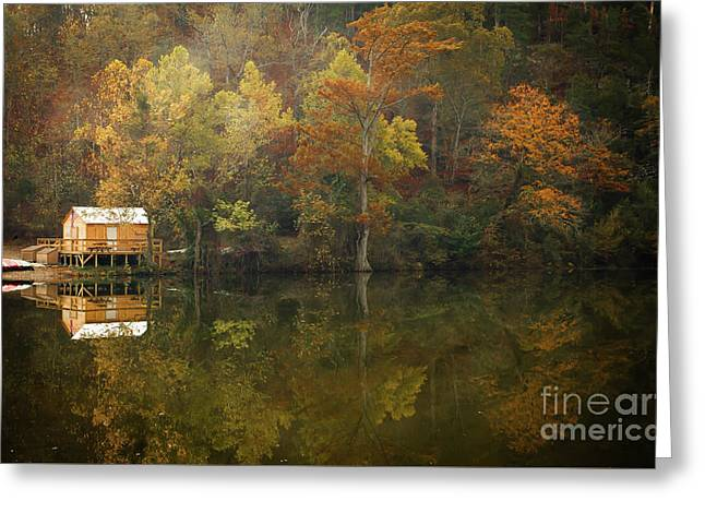 Greeting Card featuring the photograph Sweet Home by Iris Greenwell