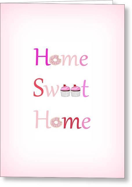 Sweet Home Greeting Card
