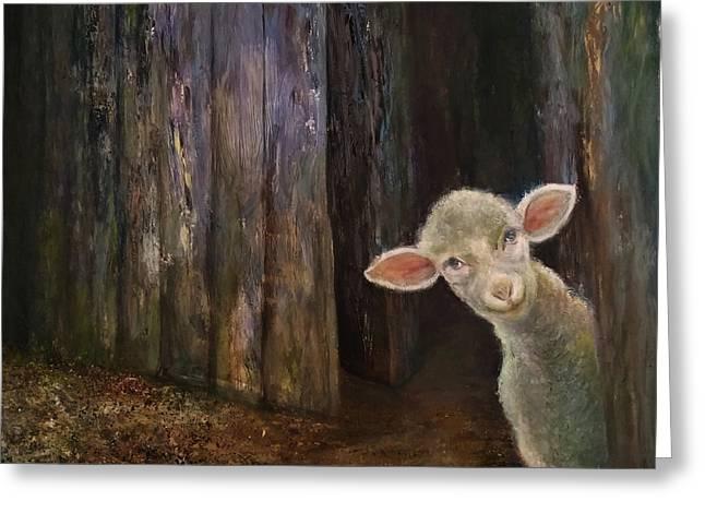 Sweet Lamb Greeting Card