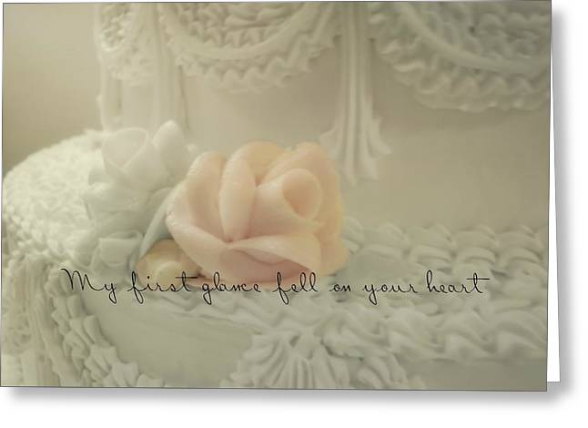 Sweet Love Quote Greeting Card by JAMART Photography