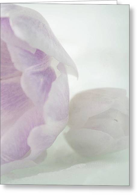 Sweet Mother And Daughter Greeting Card by The Art Of Marilyn Ridoutt-Greene