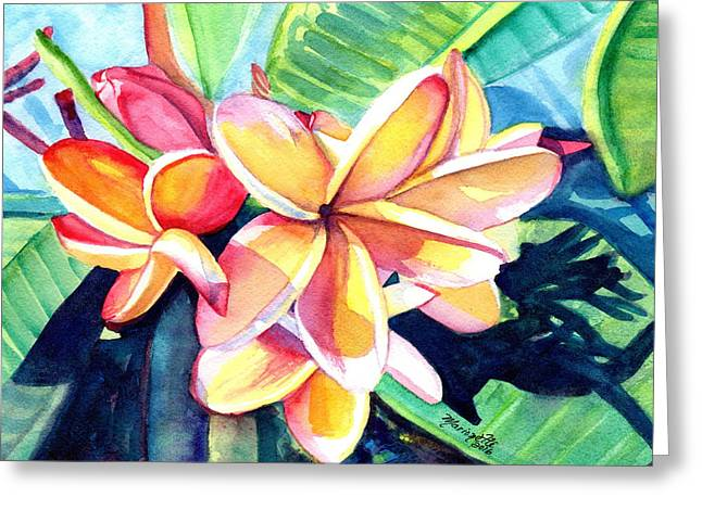 Sweet Plumeria 2 Greeting Card