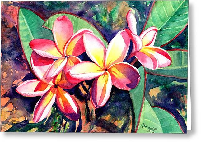 Sweet Plumeria Greeting Card