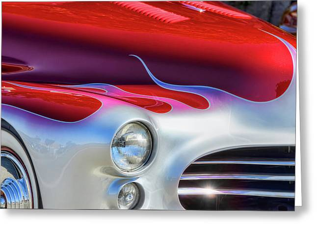 Sweet Ride Greeting Card by David Lawson