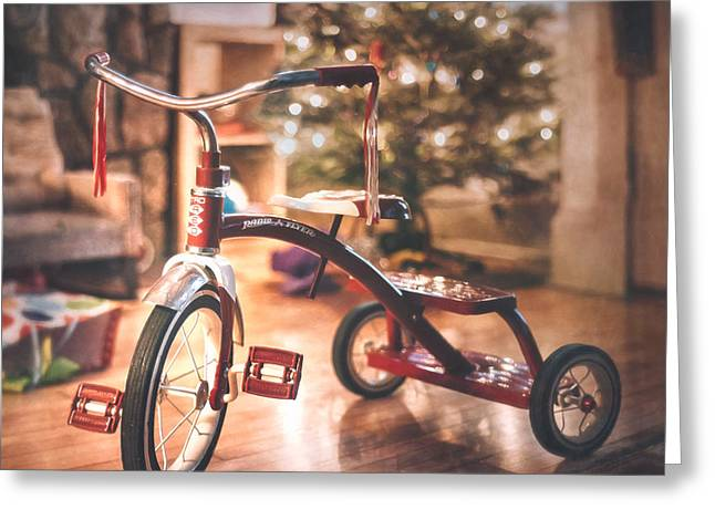 Sweet Ride Greeting Card by Scott Norris