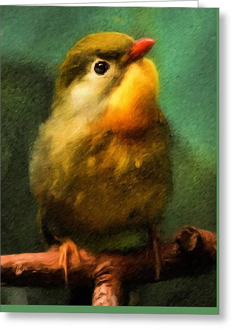 Sweet Song Bird Greeting Card