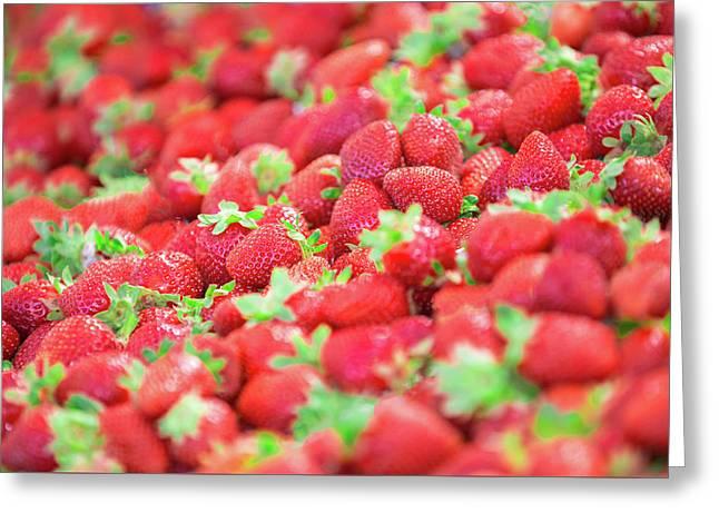 Sweet Strawberries Greeting Card