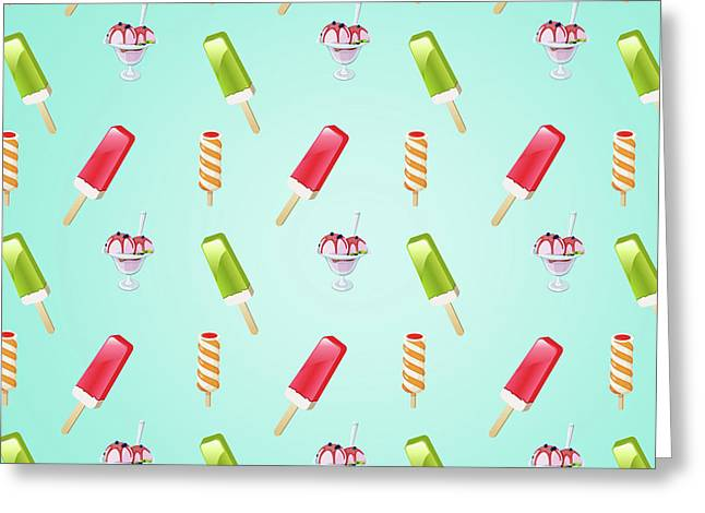 Sweet Summer  Greeting Card by Mark Ashkenazi