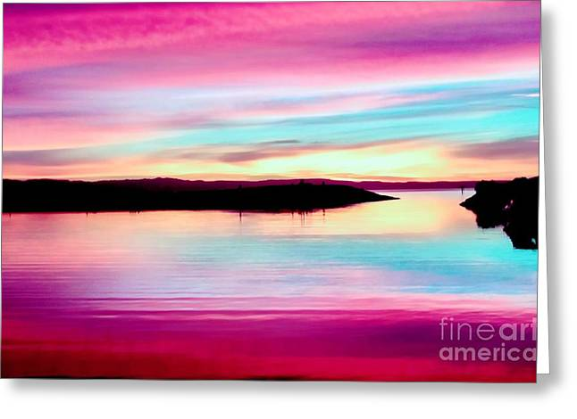 Sweet Sunset Greeting Card
