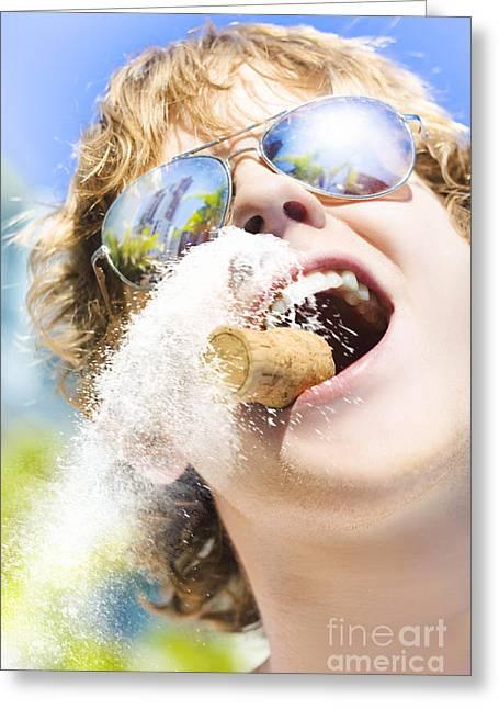 Sweet Taste Of Success Greeting Card