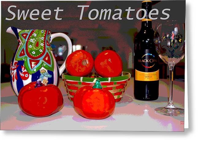 Sweet Tomatoes Greeting Card