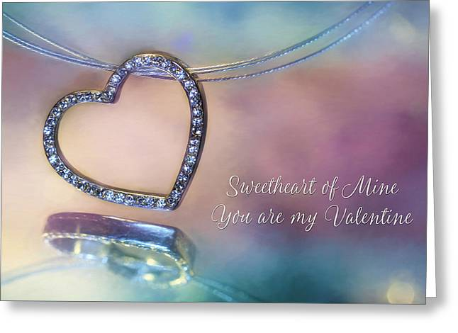 Sweetheart Of Mine Greeting Card by Lori Deiter