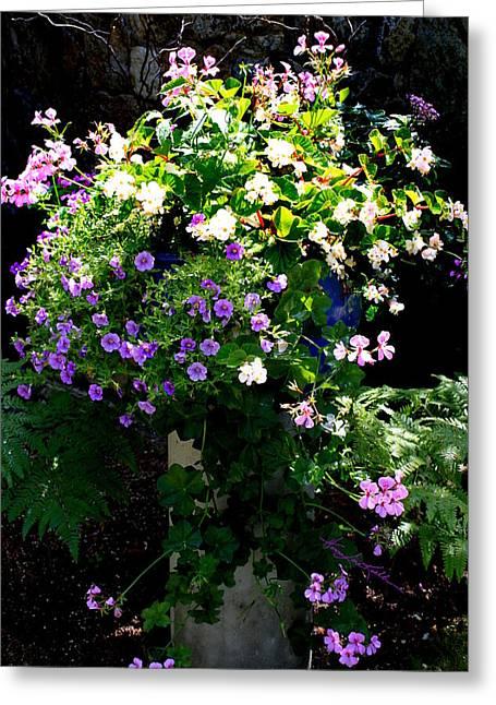 Sweetness In My Garden Greeting Card by Hanne Lore Koehler