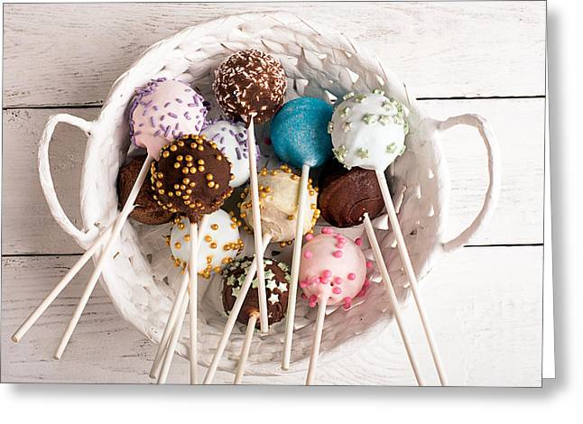 Sweets For My Darling Greeting Card by Vadim Goodwill