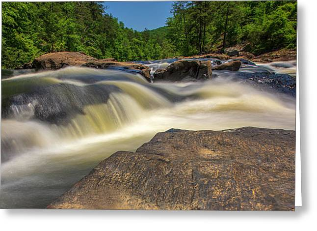 Sweetwater Creek Long Exposure 2 Greeting Card