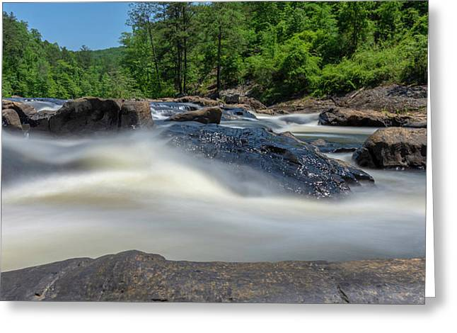 Sweetwater Creek Long Exposure Greeting Card