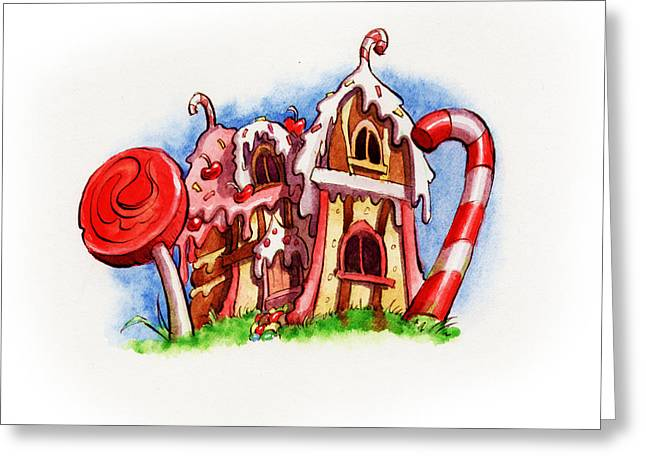 Sweety House Greeting Card