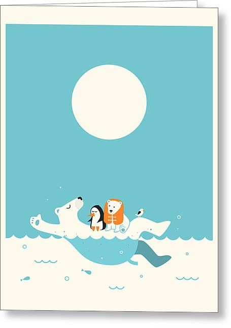Swimming Lessons 1 Greeting Card