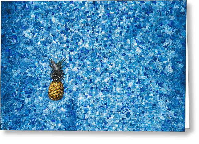 Swimming Pool Days Greeting Card by Happy Home Artistry