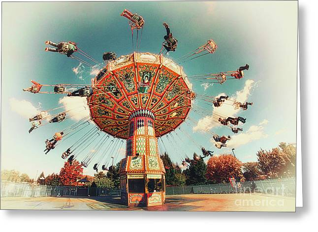 Swingin' Greeting Card by Mark Miller