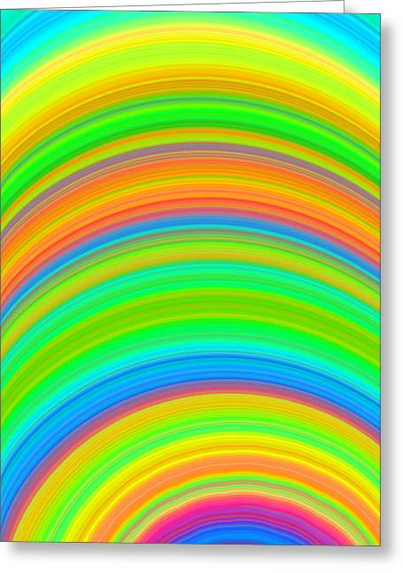Swirl 2 Greeting Card by Chris Butler