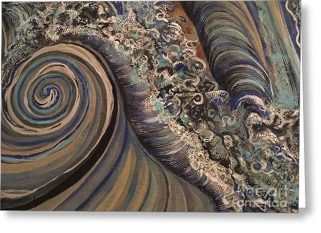 Swirl Greeting Card