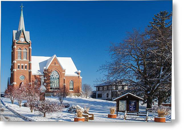 Swiss United Church Of Christ Greeting Card by Todd Klassy