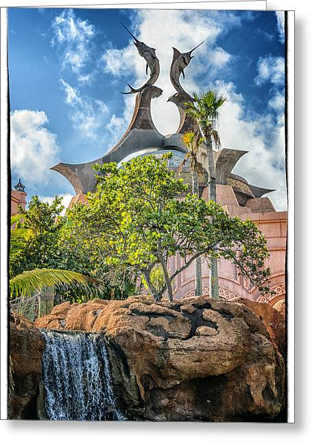 Swordfish Design - Atlantis Resort - Nassau Bahamas Greeting Card