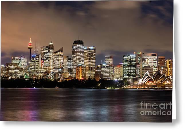 Sydney Australia Greeting Card by Andrew Michael