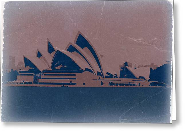 Sydney Australia Greeting Card by Naxart Studio