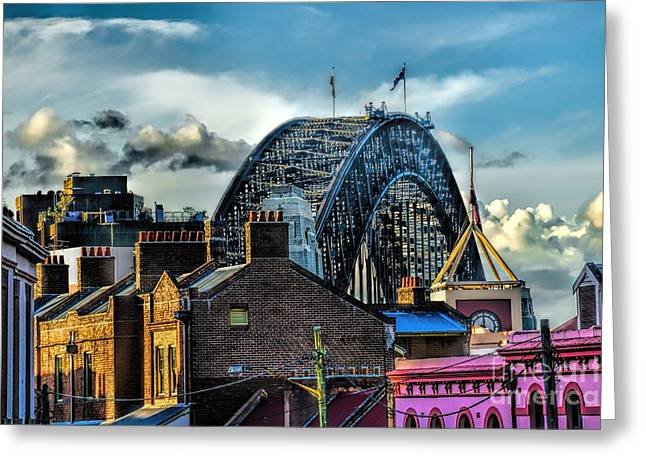 Sydney Harbor Bridge Greeting Card