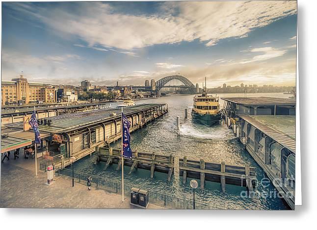 Sydney Harbor I Greeting Card