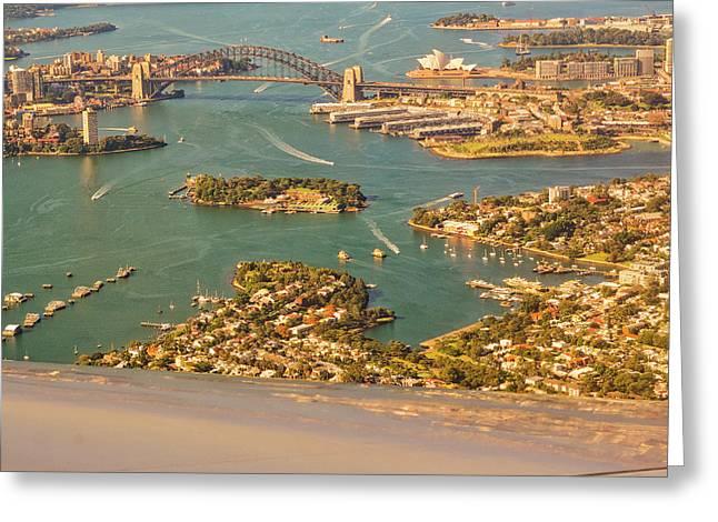 Sydney Harbor Greeting Card