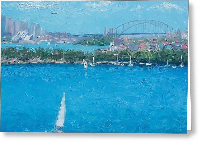 Sydney Harbour And The Opera House Vacation Greeting Card