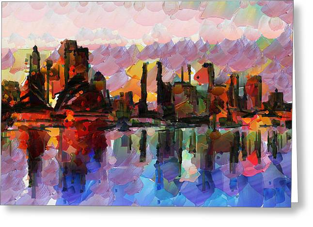 Sydney Here I Come Greeting Card by Sir Josef - Social Critic -  Maha Art