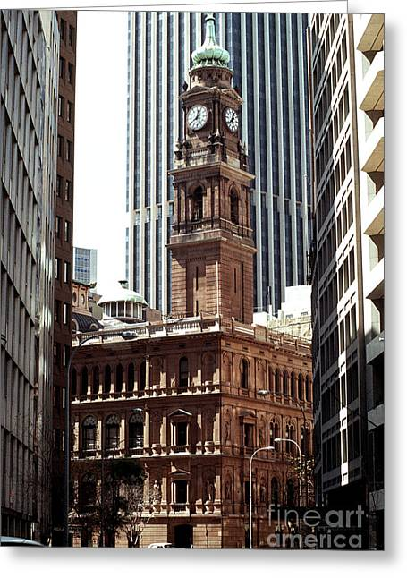 Sydney Old Building 01 Greeting Card by Rick Piper Photography