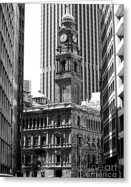 Sydney Old Building 02 Greeting Card by Rick Piper Photography
