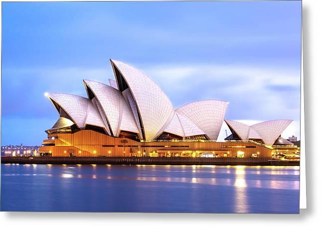 Sydney Opera House At Dawn Greeting Card