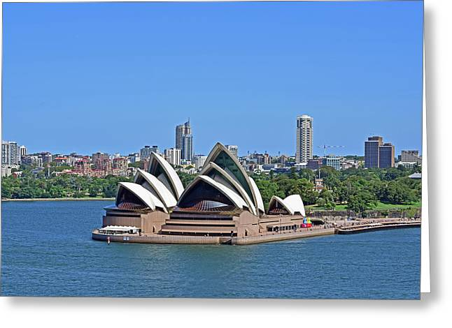 Sydney Opera House No. 17-1 Greeting Card