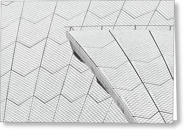 Sydney Opera House Roof No. 10-1 Greeting Card