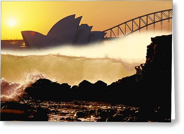 Sydney Surf Greeting Card